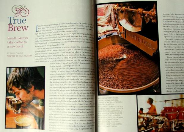 Alaska Airlines MAgazine spread