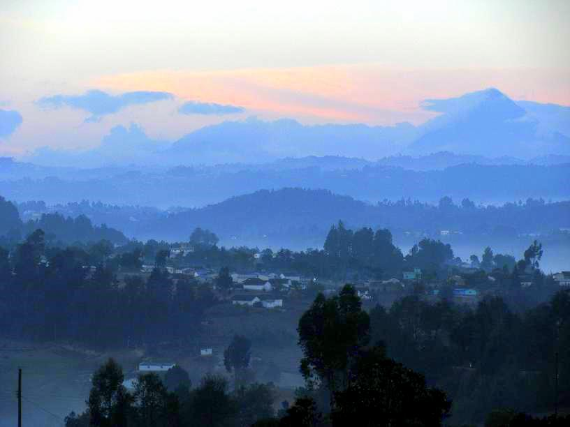 Sunrise in the Guatemala Highlands
