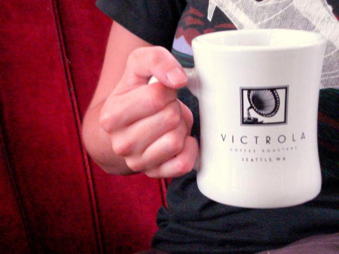 New, improved Victrola diner mug!