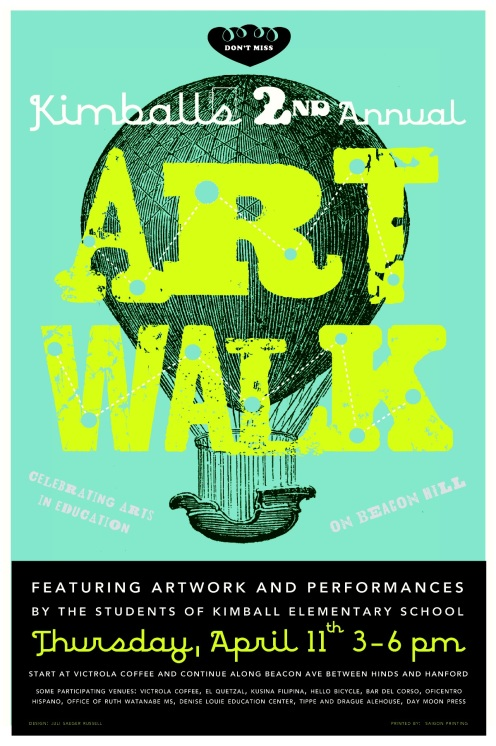 KIMBALL ELEMENTARY - 2ND ANNUAL ART WALK