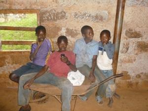 KENYA KIDS AT THEMILL