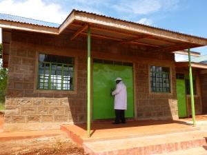 KENYA MAN AT OFFICES